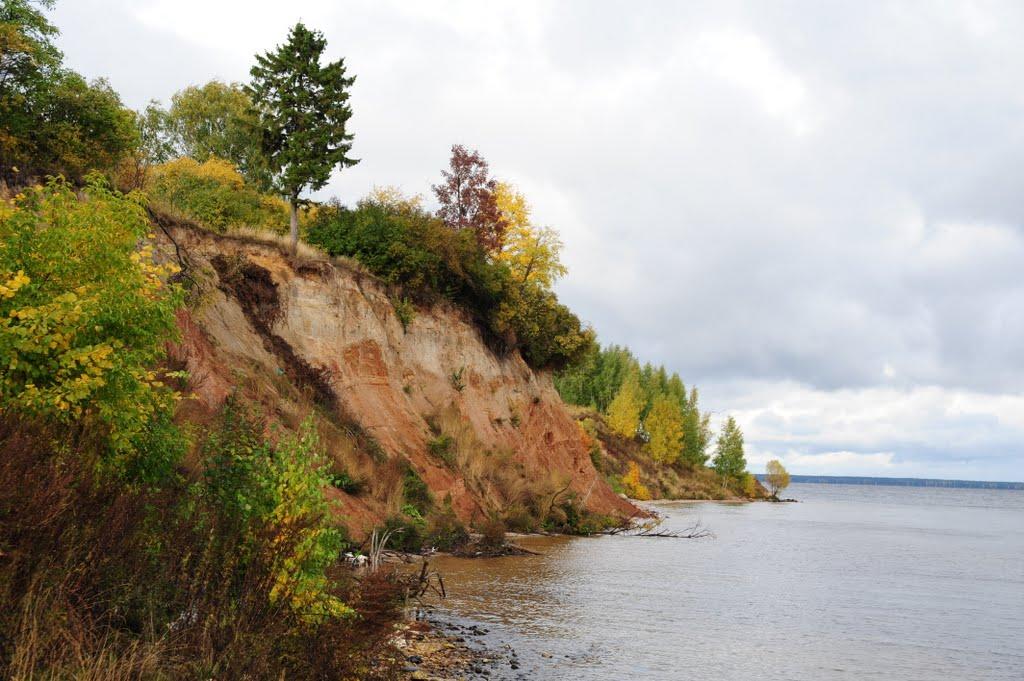 осень обрыв