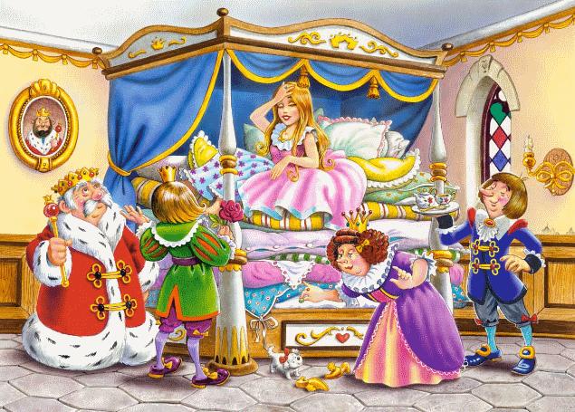 Принцесса на горошене