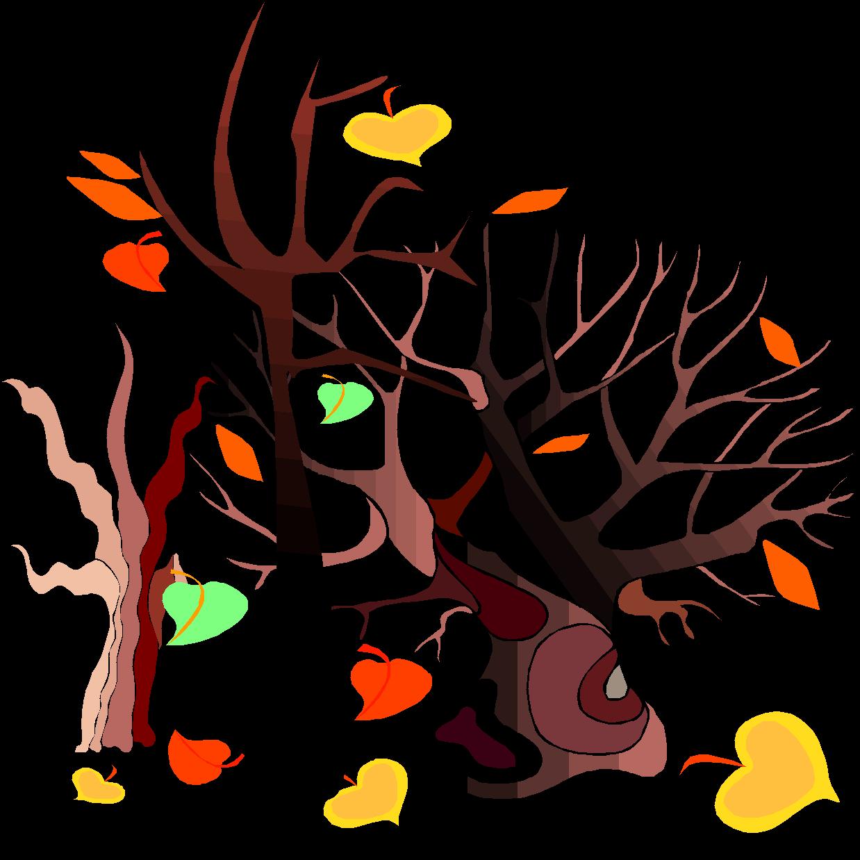 Листьям время опадать