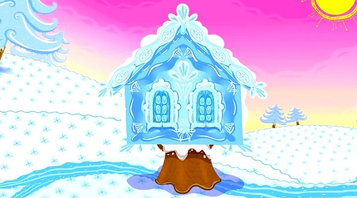 В ледяной избушке. Светлана Рагулина.